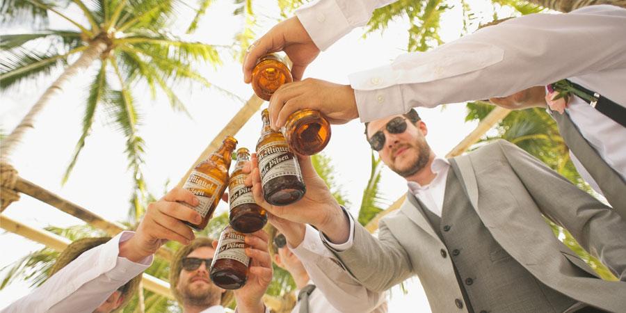 jarra de cerveza para boda