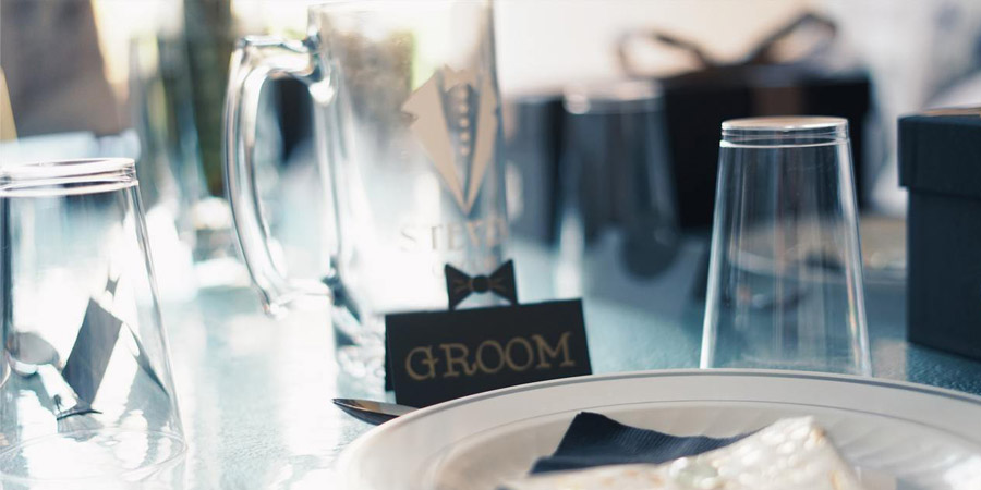 jarra de cerveza boda