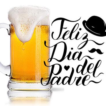 jarra de cerveza dia del padre